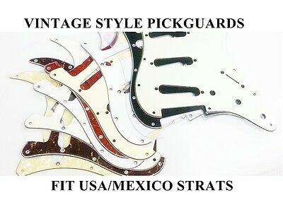 Scratch Plate Pickguard For Stratocaster Strat Fit Fender USA Mexico 65 Modern