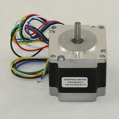 "8.0 kg-cm 6 Wire NEMA 23 Stepping Motor with ""D"" shaft 57BYGH207-D"