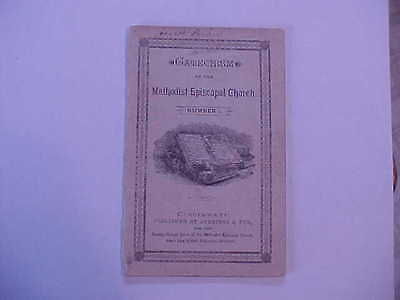 Antique Booklet ~ Catechism of the Methodist Episcopal Church ~ No 1 ~ 1852