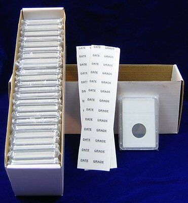 10 Coin holders Slab Style for *US and CANADIAN COINS* Choice of 15 diff. size