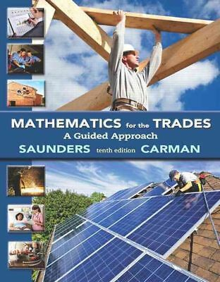 Mathematics for the Trades by Robert A. Carman Paperback Book (English)
