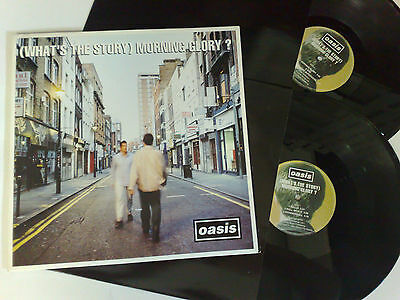 Oasis ( What's The Story ) Morning Glory ? Cre Lp 189 Uk 2Lps 5017556301890