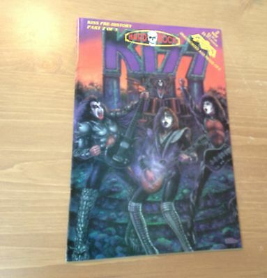 "KISS COMICS "" Hard Rock Comics - Pre-History Part 2 of 3 "" 1993'"