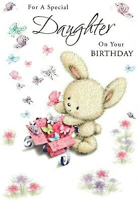 Cute Daughter Happy Birthday Card