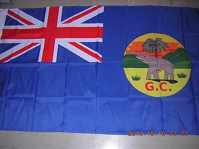 NEW Pre 1957 British Empire British Gold Coast Ghana Blue flag Ensign 3X5ft