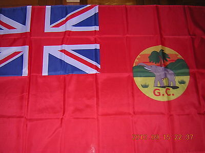 NEW Flag Pre 1957 British Empire British Gold Coast Ghana Red Civil Ensign 3X5