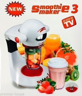 Smoothie Maker 3 Machine Blender Fruit Juicer  Milkshake Maker Mixer NEW MODEL