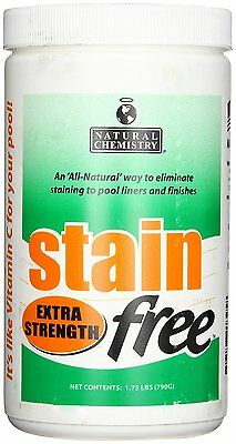 Natural Chemistry 7395 Stainfree Extra Strength Swimming Pool Stain Remover New