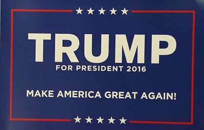 Donald Trump For President 2016 Campaign Poster Sign NEW!