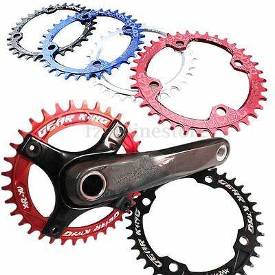 Single Tooth Narrow Wide Bike MTB Bicycle Chain Ring Chainring 104 BCD 32 34 36T