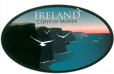 CLIFFS OF MOHER Irish Embroidered Patch Badge - Co Clare, Ireland