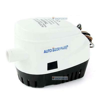 Automatic Submersible Boat Bilge Water Pump 12V 750GPH with Float Switch SP