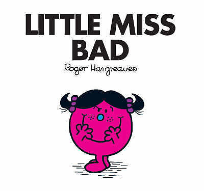 NEW (32)  LITTLE MISS BAD ( BUY 5 GET 1 FREE book )  Mr Men