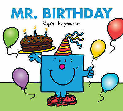 NEW sparkly MR BIRTHDAY (BUY 5 GET 1 FREE book) Little Miss Men 9781405223348