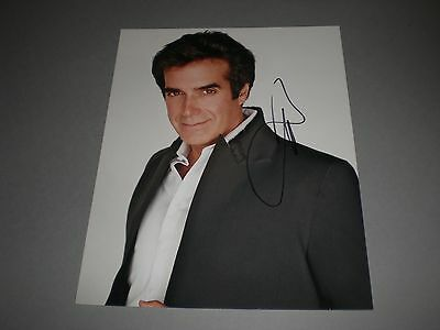David Copperfield  signed signiert autograph Autogramm auf 20x26 Foto