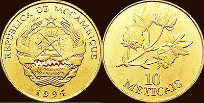 Mozambique 1994 10 Meticals Uncirculated (KM117)