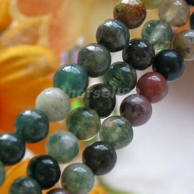 4mm Blood Agate Round Gemstone Loose Beads 15.5 Inch 15.5 Inch/ Strand