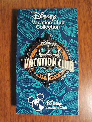 Disney Vacation Club Member Pin DVC 2015 Mickey with Binoculars