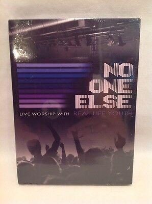No One Else - Live Worship With Real Life Youth! DVD &CD Set! Brand New!! B55