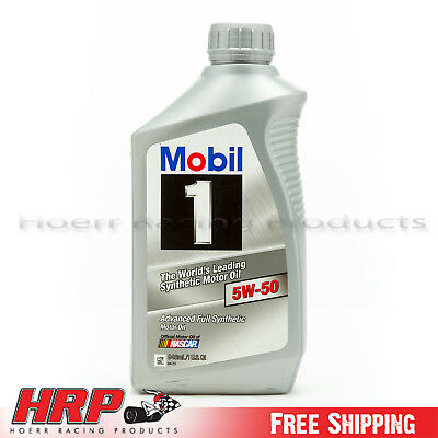 Mobil 1 5W-50 Synthetic Motor Oil - 1 Quart