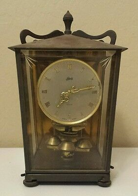 Vintage 1950's Shatz & Söhne 400 Day Anniversary Mantle Clock, Model 53 - German