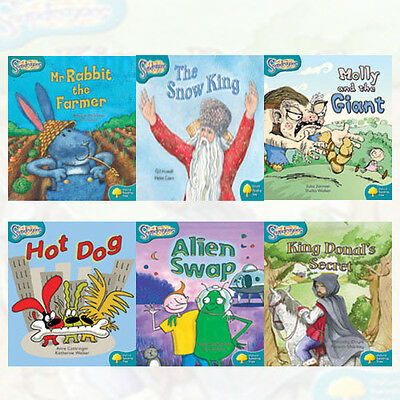 Oxford Reading Tree: Level 9: Snapdragons, 6 Books Collection Set (Alien Swap)