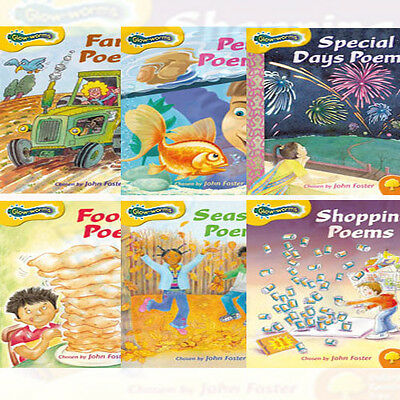 Oxford Reading Tree: Levels 5-6: Glow-worms, 6 Books Collection Set (Food Poem)