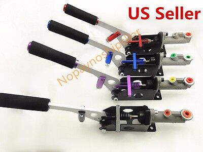 Hydraulic Horizontal Racing Drift Rally Hand E Brake Parking Handbrake Lever