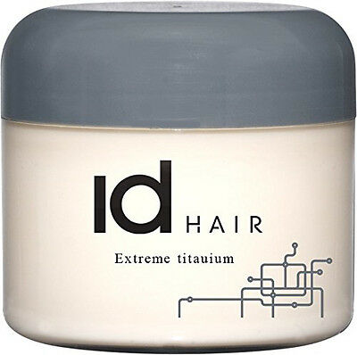 ID HAIR STYLING PASTE WAX WACHS EXTREME TITANIUM EXTREM STARK 100 ml