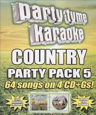 Karaoke - Party Tyme Karaoke: Country Party Pack, Vol. 5 New Cd