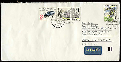 Czechoslovakia 1983 Cover To France #C26776