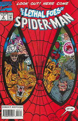 LETHAL FOES OF SPIDER-MAN #3 NM, RHINO, DOCTOR OCTOPUS, Marvel Comics 1993