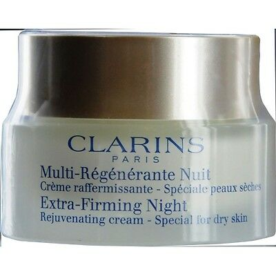 Clarins New Extra-Firming Night Rejuvenating Cream - Special For Dry Skin --50Ml
