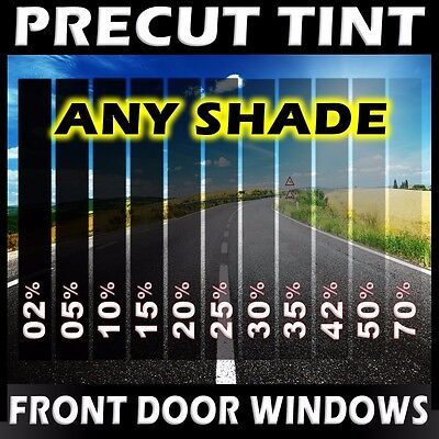 PreCut Film Front Door Windows Any Tint Shade VLT for Cadillac Glass