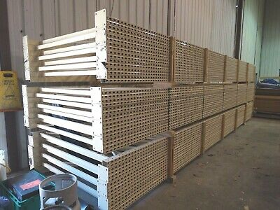"Racking Pallet Rack Shelving Teardrop 68"" x 288"" Upright $200.00ea Steel King"