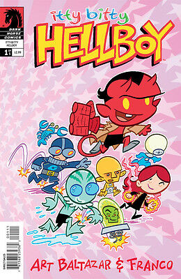 Itty Bitty Hellboy #1-5 Near Mint 2013 Dark Horse Comics