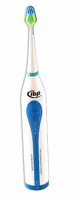 IBP RST2050 Sonic Electric Toothbrush Battery Operated 30,000 SPM Timer 3 Modes