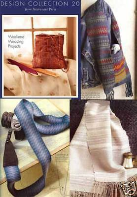 Handwoven's Design Collection 20: WEEKEND PROJECTS