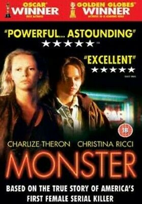 Monster DVD (2004) Charlize Theron, Jenkins (DIR) cert 18 FREE Shipping, Save £s