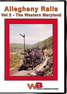 Allegheny Rails Volume Ii The Western Maryland Wb Video Productions New Dvd