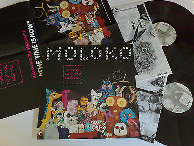 Moloko Things To Make And Do 2000 Roadrunner Rr8550-1 2Lp 2 Sleeves + Poster