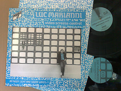 Luc Marianni Video Screen Control 1984 Delphes Records 2Lp+Inner Sleeve