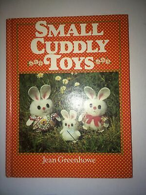Cute Cuddly Toys by Jean Greenhowe Patterns & Instructions Book Vintage RARE