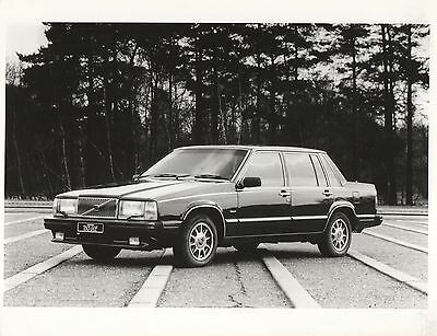 Volvo 760 GLE Press Photograph