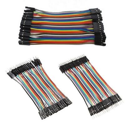 120pcs 3*40P 10cm DuPont Wire Breadboard Jumper Wire Male to Male Male to Female