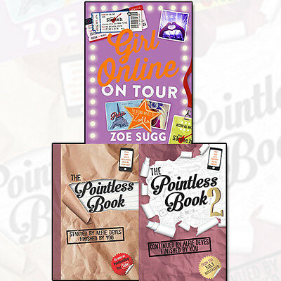 The Pointless Book Collection Girl Online On Tour 3 Books Set Humour Pack NEW