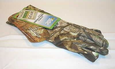 Primos APG HD Stretch Fit Extended Cuff Camo Hunting Camouflage Gloves 6675