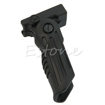 3 Position Hunting Foldable Front Grip Foregrip for Picatinny/Weaver Rail Type