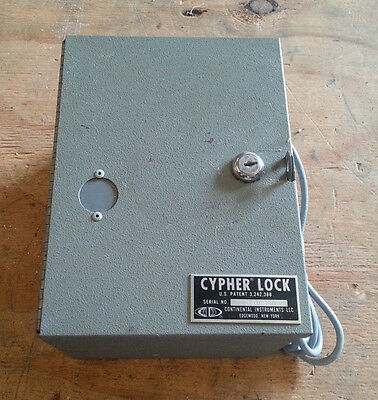 Continental Cypher Lock 146092 Model S
