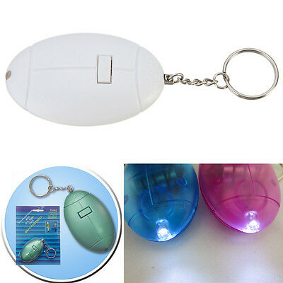 Loud Personal Staff Anti-Rape Anti-Attack Safety Security Panic Alarm & Torch